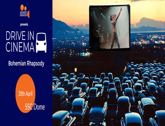 Drive In Cinema - Bohemian Rhapsody on 28 Apr 2019 at  India