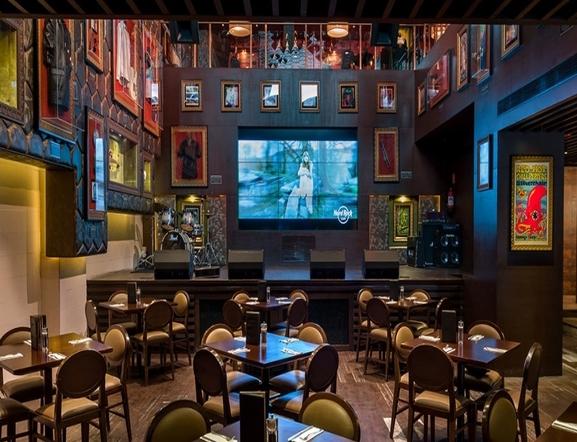 Hard Rock Cafe, Andheri Hard Rock Cafe,Fun Cinema Lane, Near Balaji Telefilms, Off Veera Desai Rd, Andheri West, Mumbai Mumbai